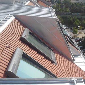 fenstermontage dach